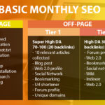 Basic Monthly SEO Package